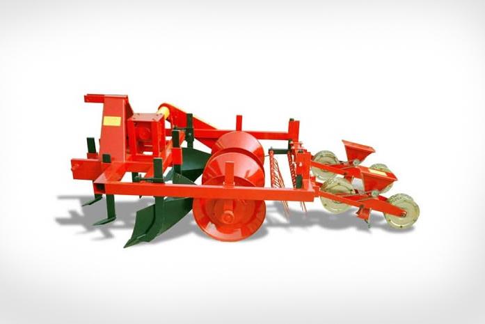Maszyna do formowania redlin i zagonów z siewnikiem nasion